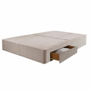 """Sussex Beds - 4'0"""" Small Double True Edge 1000 2 Drawer Base"""