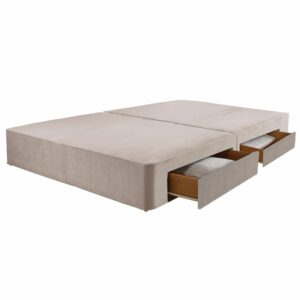 """Sussex Beds - 4'0"""" Small Double True Edge 1000 2 Drawers on Same Side Base"""