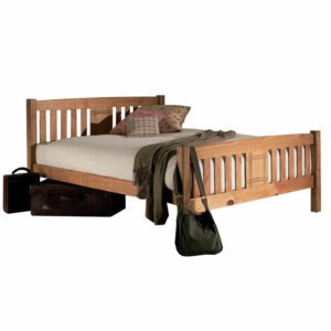 """Sussex Beds - 4'0"""" Small Double Roxwell Honeycombe Bed Frame"""