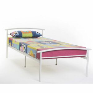 """Sussex Beds - 3'0"""" Single Dudley White Bed Frame"""