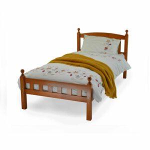"""Sussex Beds - 3'0""""Single Grassington Solid Oak Bed Frame"""