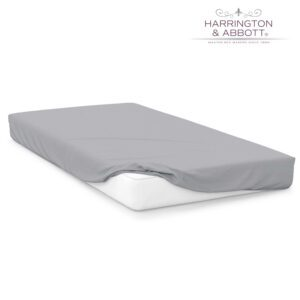 """Sussex Beds - 3'0"""" Grey Fitted Sheet"""