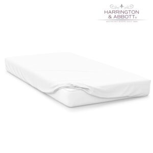 """Sussex Beds - 3'0"""" White Fitted Sheet"""