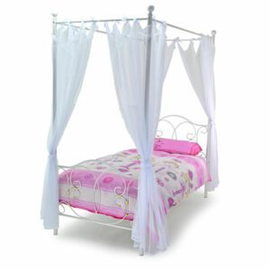 """Sussex Beds - 3'0"""" Single Hayle White Bed Frame"""