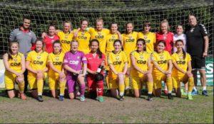 local coach nets women's football team top league slot