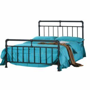 """Sussex Beds - 3'0"""" Single Ilminster Black Metal Bed Frame"""
