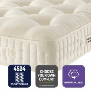 """Sussex Beds - 2'6"""" Small Single Kelmscott 4524 Mattress, Marquis and Moore"""