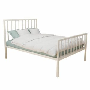 """Sussex Beds - 3'0"""" Single Leighton Ivory HFE Bed Frame"""