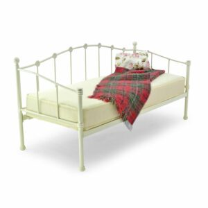"""Sussex Beds - 2'6"""" Small Single Okehampton Ivory Day Bed Frame"""