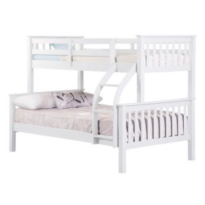 Sussex Beds - Richmond White 3 Sleeper Bunk Frame