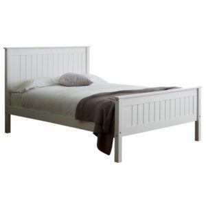 """Sussex Beds - 3'0"""" Single Sherston Grey H.F.E. Bed Frame"""