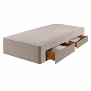 """Sussex Beds - 2'6"""" Small Single True Edge 1000 2 Drawer Base"""