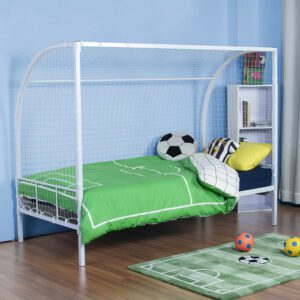 """Sussex Beds - 3'0"""" Single Thorneby White childrens Bed Frame"""