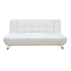 Sussex Beds - Thorpe White Sofa Bed
