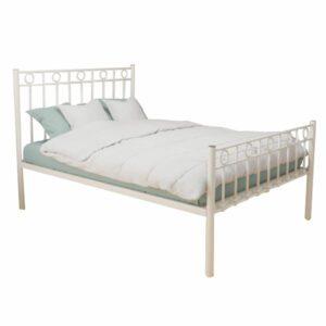 "Sussex Beds - 3'0"" Single Upton Ivory HFE Bed Frame"