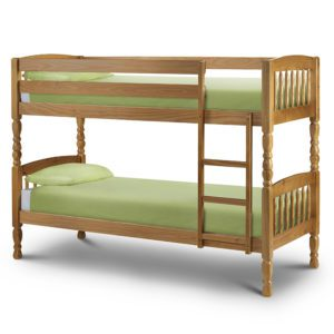 Sussex Beds - Small Single Alexandria Pine Bunk Bed