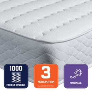 "Sussex Beds - 2'6"" Small Single Amatrix Mattress"