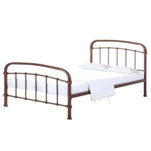 """Sussex Beds - 3'0"""" Single Basted Copper Bed Frame"""