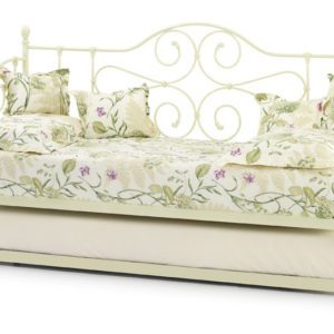 "Sussex Beds - 3'0"" Bramber Ivory Day Bed with Guest Bed"