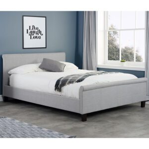 """Sussex Beds - 4'0"""" Small Double Churt Grey Bed Frame"""