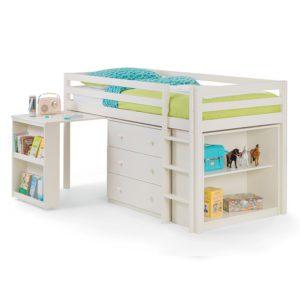 Sussex Beds - Claremont White Sleep Station