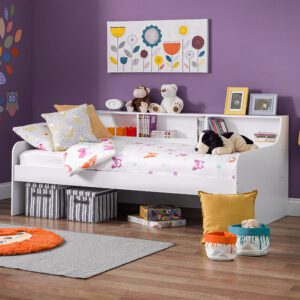 """Sussex Beds - 3'0"""" Single Cobham White Day Bed"""