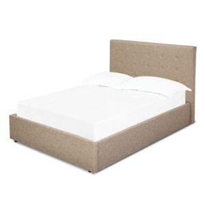 "Sussex Beds - 4'6"" Double Brenzett Beige Bed Frame"