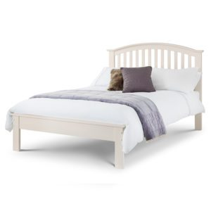 """Sussex Beds - 4'6"""" Double Hawthorn White Bed Frame"""