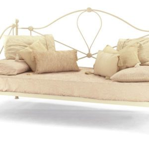 """Sussex Beds - 2'6"""" Elo Ivory Gloss Day Bed"""