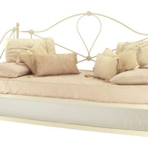 "Sussex Beds - 2'6"" Elo Ivory Gloss Day Bed with Guest Bed"