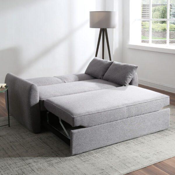 Sussex Beds - Halstow Grey Sofa Bed