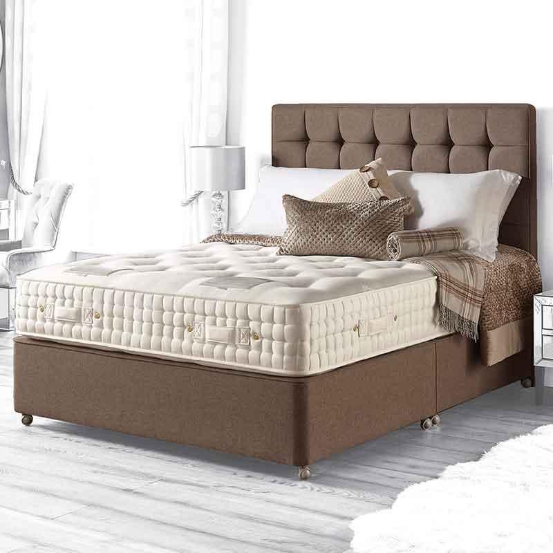 3 39 0 Single Hammersmith 9800 Pocket Sprung True Edge Divan Bed Sussex Beds