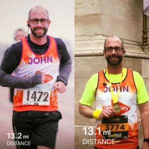 same runner at two different events