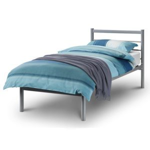 """Sussex Beds - 2'6"""" Small Single Manston Silver Bed Frame"""