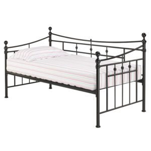 """Sussex Beds - 3'0"""" Single Sheerness Black Day Bed"""