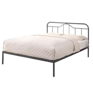 """Sussex Beds - 4'6"""" Double Whitfield Black Bed Frame"""