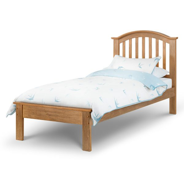 """Sussex Beds - 3'0"""" Single Hawthorn Oak Bed Frame"""