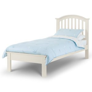 """Sussex Beds - 3'0"""" Single Hawthorn White Bed Frame"""