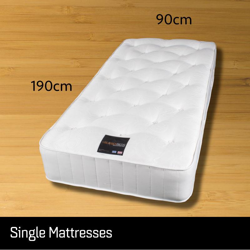 Single size mattresses