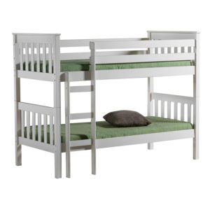 """Sussex Beds - 3'0"""" Single Ontario White Bunk Frame"""