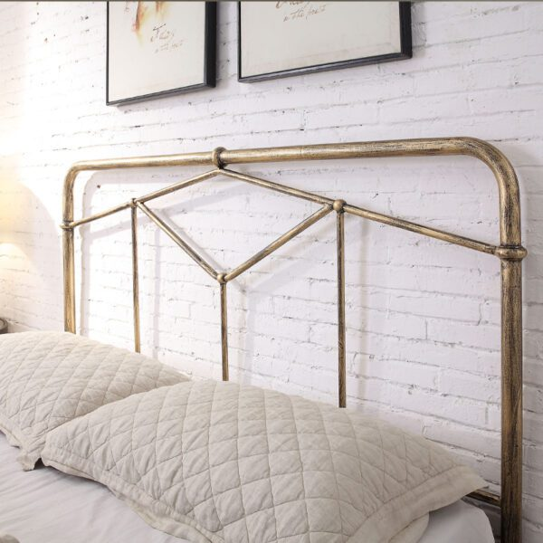 """Sussex Beds - 4'6"""" Double Smeeth Antique Bronze Bed Frame"""