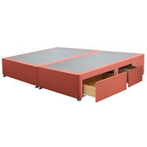 """Sussex Beds - 6'0"""" Super King Paris Platform Top 2+2 Drawer Base"""