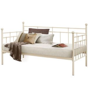 """Sussex Beds - 3'0"""" Single Torino Cream Day Bed"""