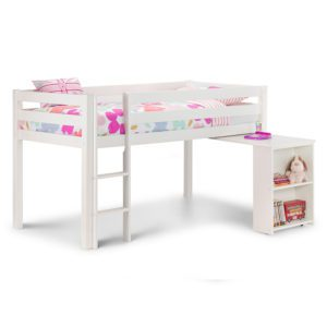 Sussex Beds - Washington White Cabin Bed